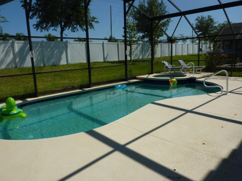 1316 Solana Circle - Pool Area