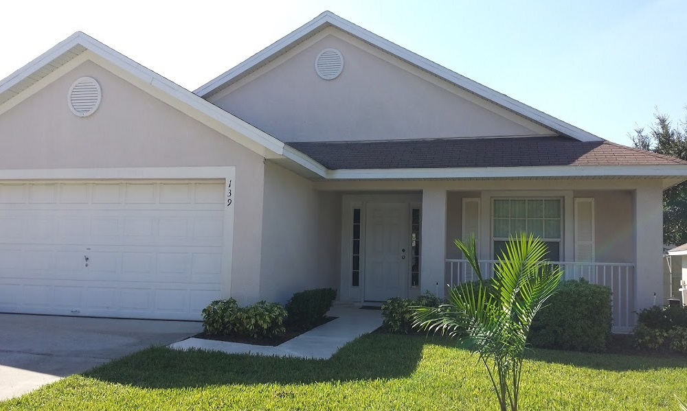 139 Laurel - Florida Pines - Front View - Pilgrim Homes Florida