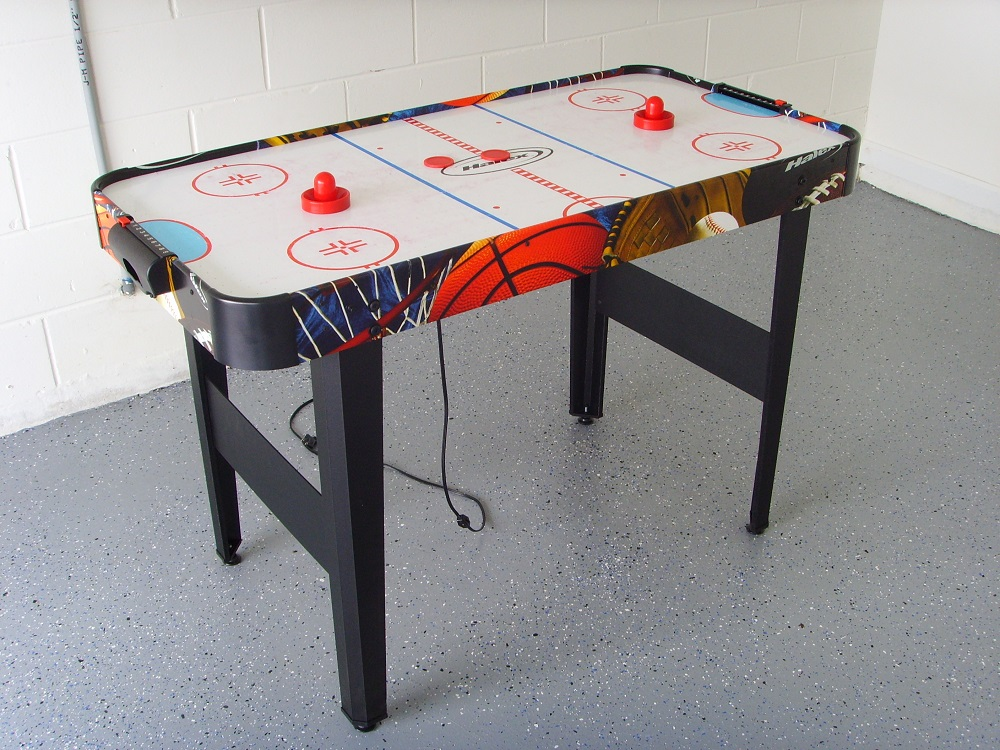 Air Hockey in Games Room