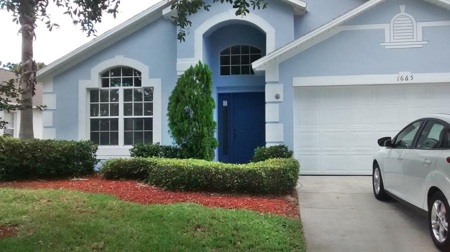 1665 Waterview Loop Front View - Pilgrim Homes Florida
