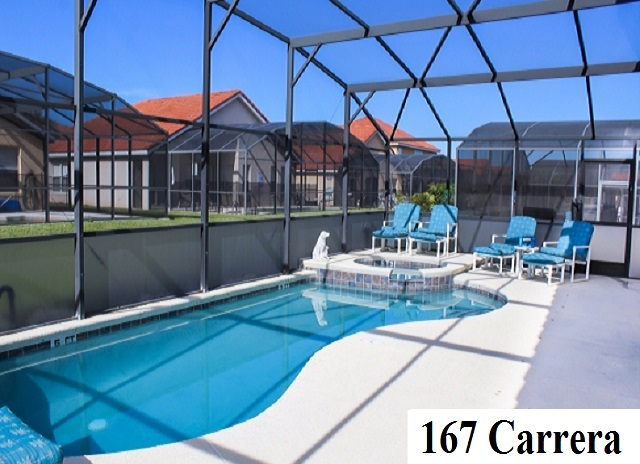 167 Carrera Pool Area - Pilgrim Homes Florida