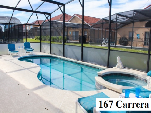 167 Carrera Pool & Spa Area - Pilgrim Homes Florida