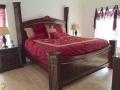 167 Carrera - Solana - Master Bedroom - Pilgrim Homes Florida