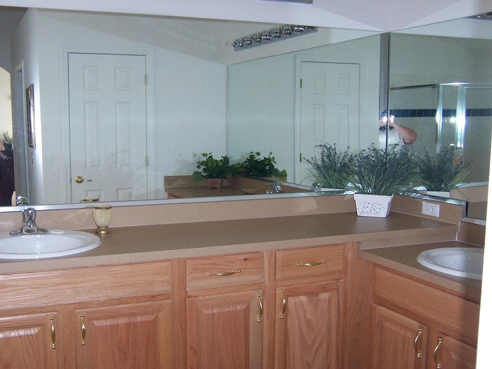 237 Lancaster Master Bathroom - Pilgrim Homes Florida