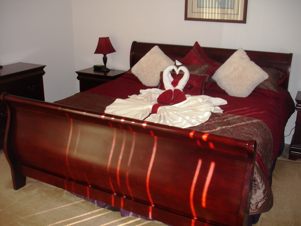 237 Lancaster Master Bedroom - Pilgrim Homes Florida