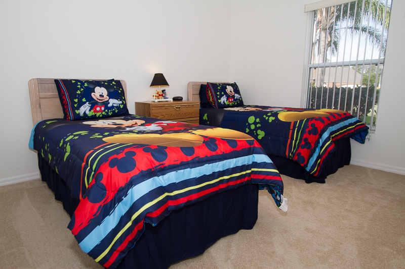2902 Paddington - Lindfields - Twin Bedroom 1-Pilgrim Homes Florida