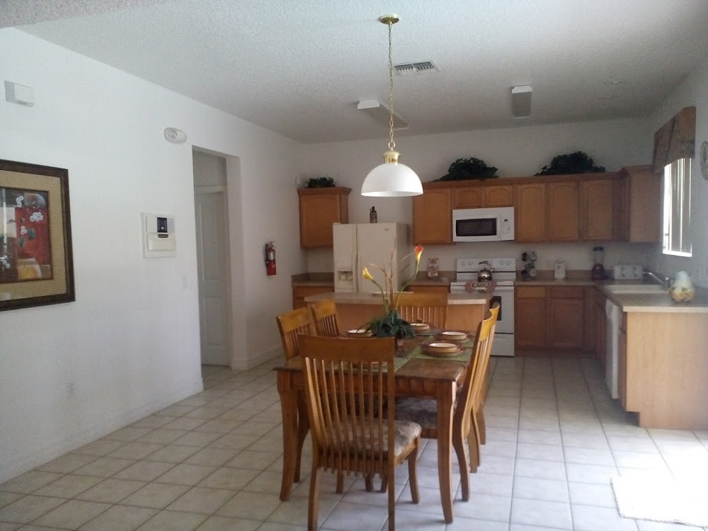 346 Elderberry Drive - Davenport - Kitchen Dining - Pilgrim Homes Florida
