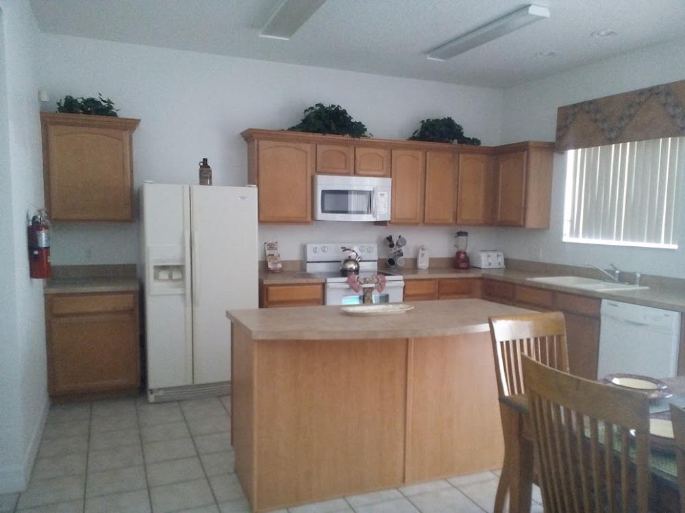 346 Elderberry Drive - Davenport - Kitchen - Pilgrim Homes Florida
