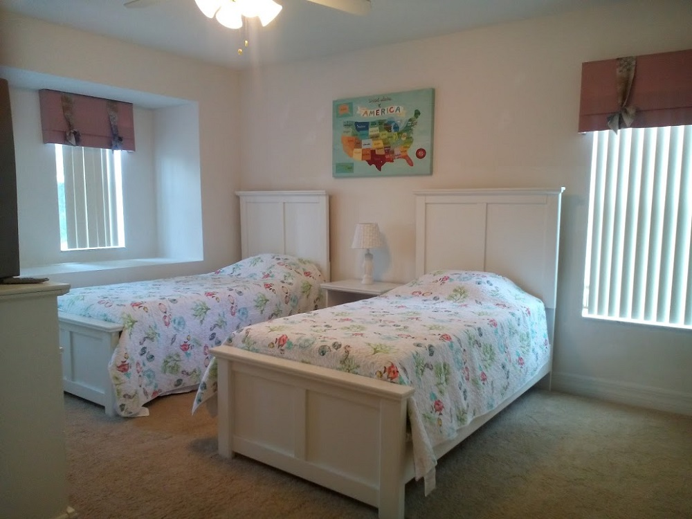 346 Elderberry Drive - Davenport - Twin Bedroom 2 - Pilgrim Homes Florida