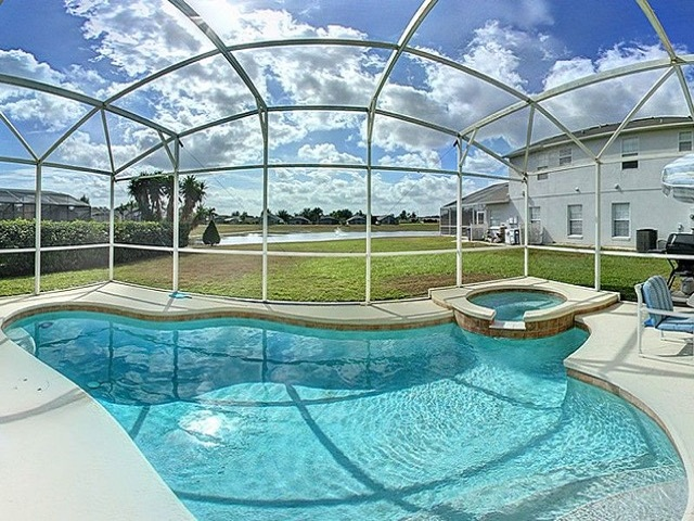 7958 Golden Pond - Pool - Pilgrim Homes Florida