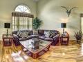 7958 Golden Pond - Front Living room - Pilgrim Homes Florida