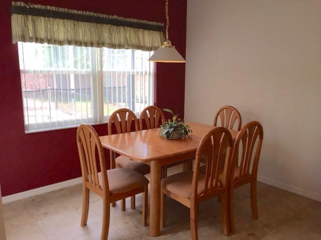 8111 Yellow Crane Drive - Dinette - Pilgrim Homes Florida