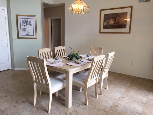 8111 Yellow Crane Drive - Dining Room - Pilgrim Homes Florida