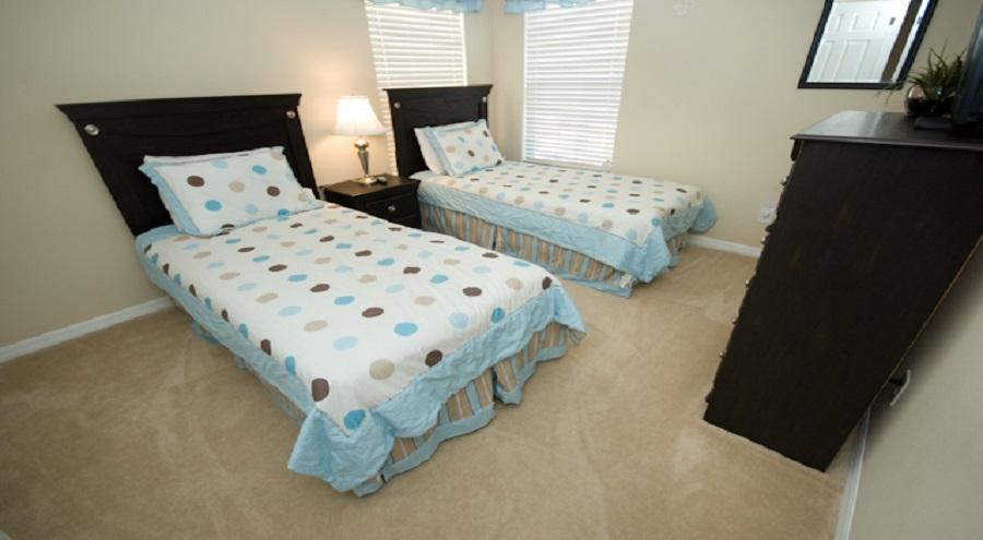 Watersong Twin Bedroom