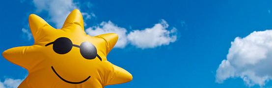 sun baloon image