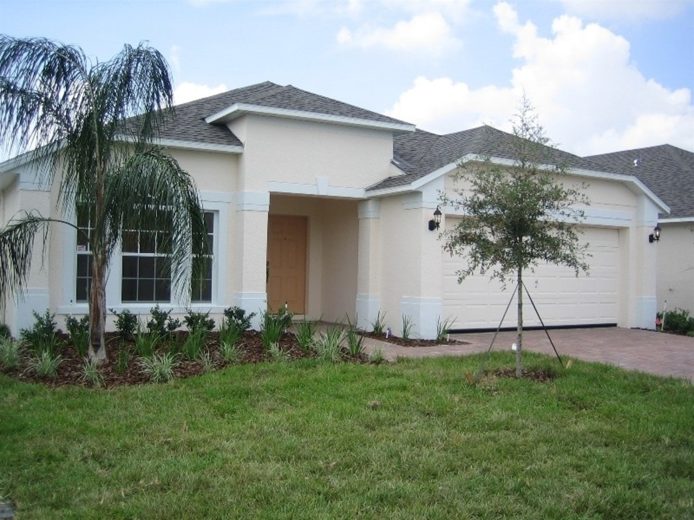 237 Lancaster Drive Front View - Pilgrim Homes Florida
