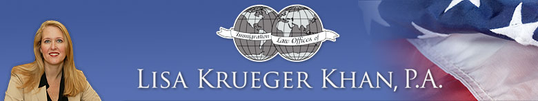 Lisa Krueger Khan - US Visa & Immigration Services - Pilgrim Homes Florida