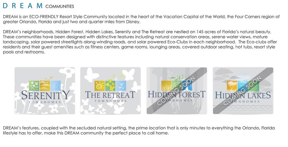 Zenodro Community Info - Pilgrim Homes Florida