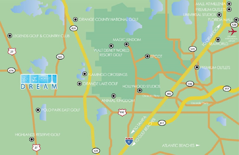 Zenodro Community Map - Pilgrim Homes Florida